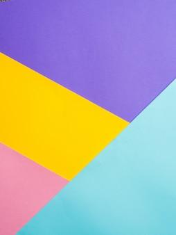 Fond de papier coloré coloré.