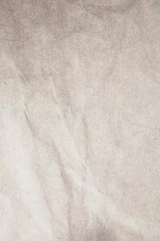 Fond De Papier Froissé Blanc De Texture. Photo Premium
