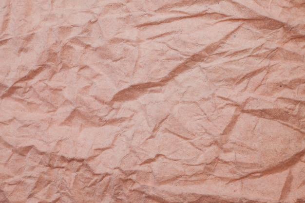 Fond de papier froissé de texture.