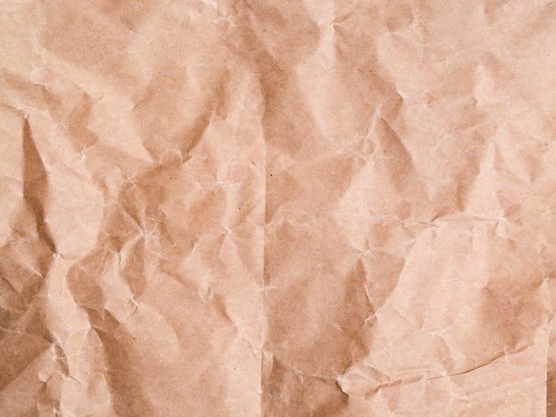 Fond de papier froissé