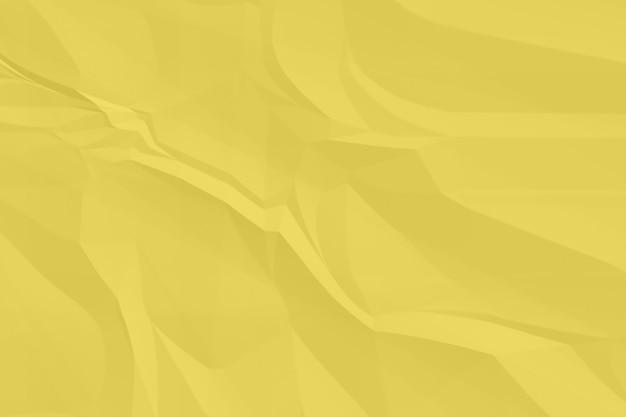 Fond de papier jaune froissé se bouchent