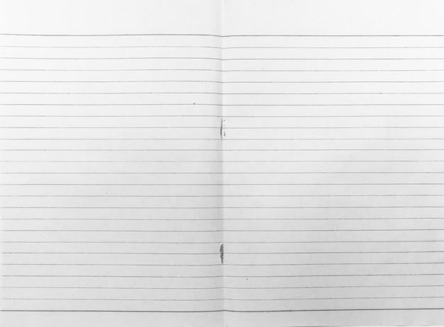 Fond de papier de ligne noire