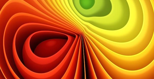 Fond de papier lumineux de nombreuses feuilles colorées