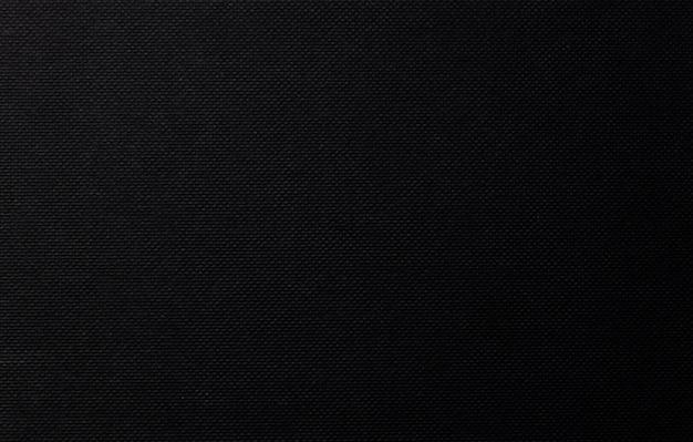 Fond de papier noir, texture de toile