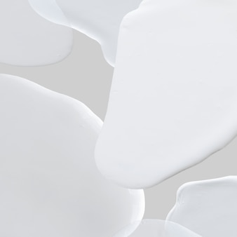 Fond de papier peint abstrait peinture blanche
