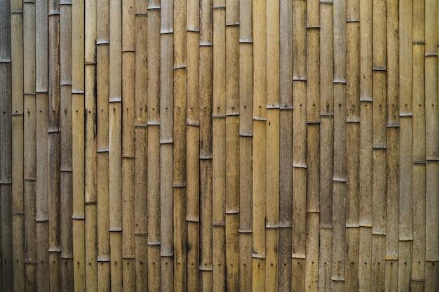 Fond de papier peint clôture bambou