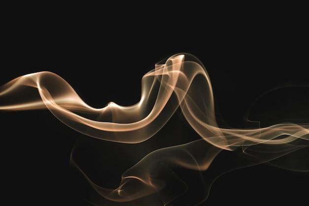 Fond de papier peint fumée élégante, design sombre