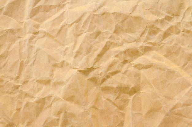 Fond de papier recyclé rides brun