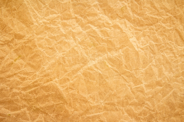 Fond de papier recyclé rides marron