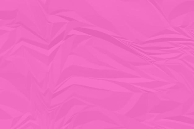 Fond de papier rose froissé bouchent