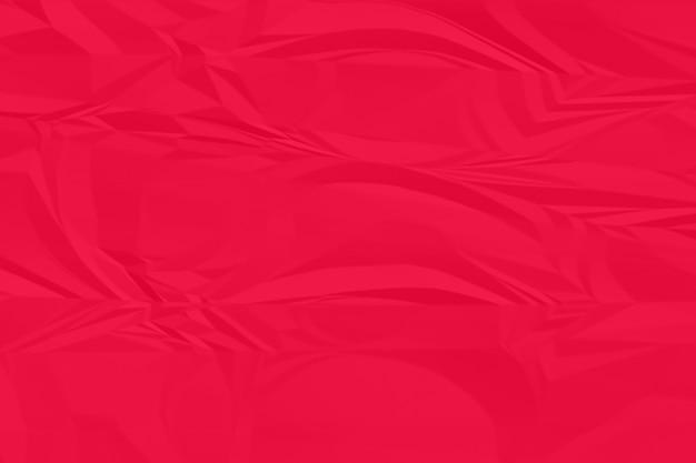 Fond de papier rouge froissé se bouchent