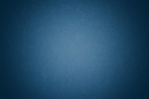 Fond de papier texturé lisse bleu