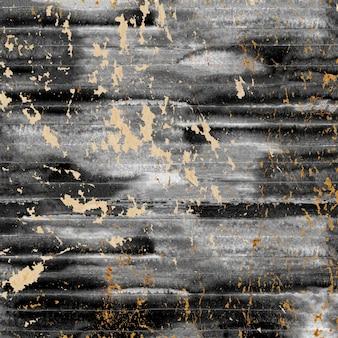 Fond de papier vintage avec des rayures aquarelles noires
