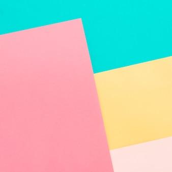 Fond de papiers colorés