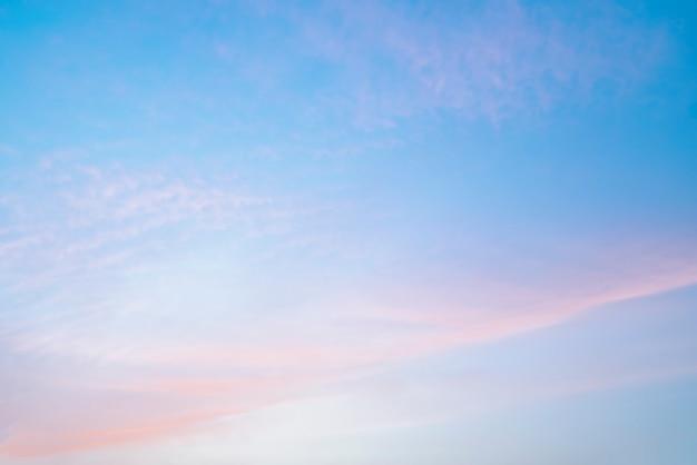 Fond de paysage beau ciel nuage