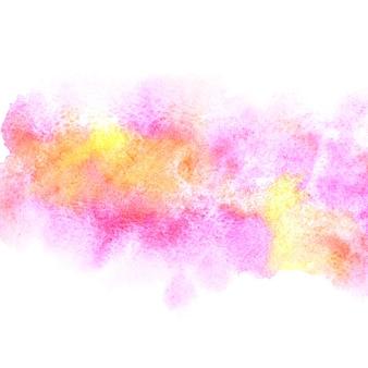 Fond peint à l'aquarelle abstraite colorée. élément vif pour votre conception