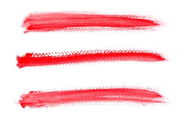 Fond peint aquarelle rouge
