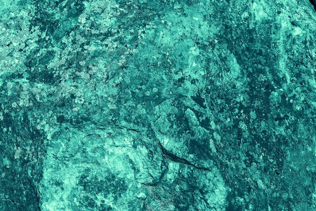 Fond peint rugueux de couleur turquoise