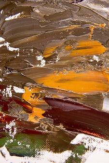 Fond de peinture acrylique à plat