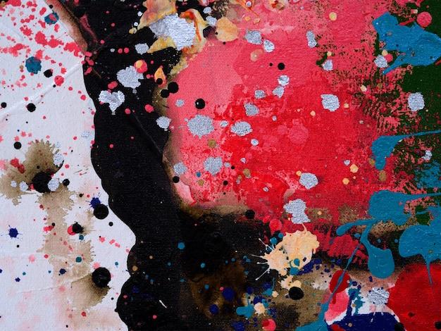 Fond de peinture aquarelle abstraite avec texture.