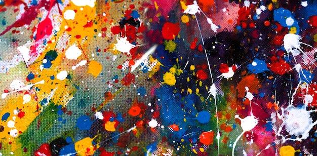 Fond de peinture aquarelle abstraite.