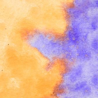 Fond de peinture artistique aquarelle abstraite