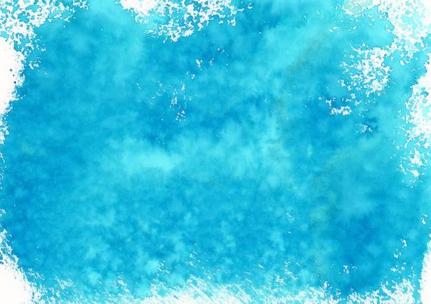 Fond de peinture bleue