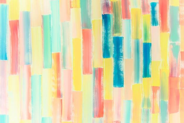 Fond de peinture colorée abstraite