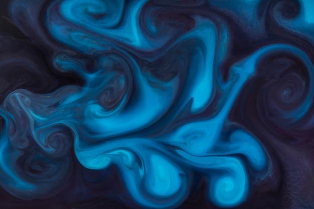 Fond de peinture de style bleu gratuit