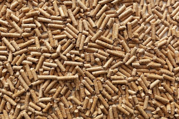 Fond de pellets de bois