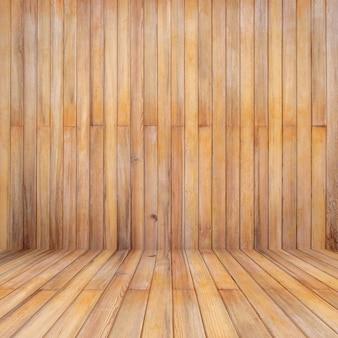 Fond de perspective en bois et texture avec espace de copie