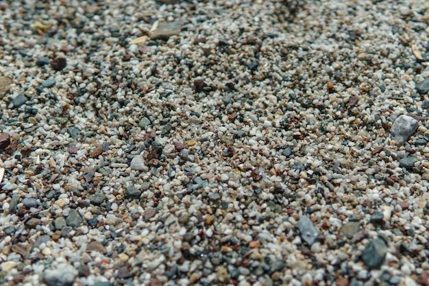Fond de petits cailloux pierres