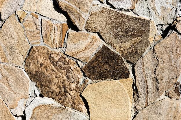 Fond de pierre coloré et texturé