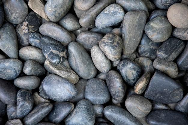 Fond de pierres de la mer.