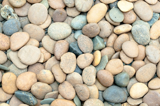 Fond de pierres de mer