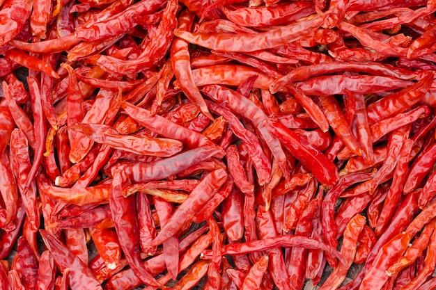 Fond de piment rouge.