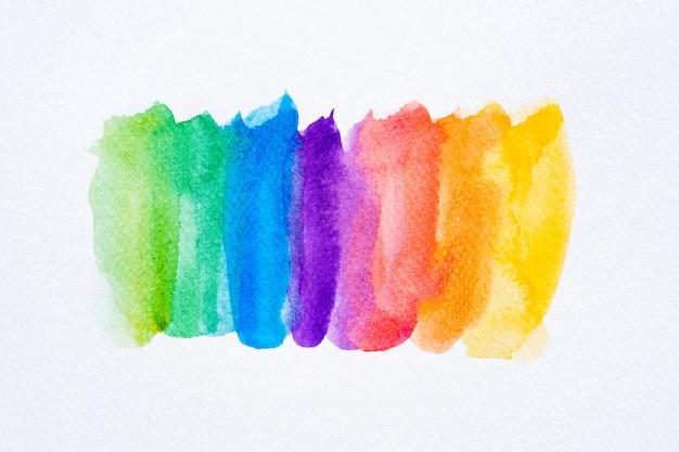 Fond de pinceau aquarelle coloré. tache d'aquarelle abstraite avec tache de peinture pour bannière, modèle, élément de décoration. fermer.