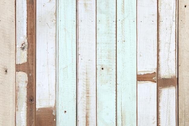 Fond de planche de bois rétro grunge