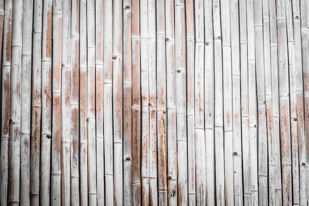 Fond de planche de bois rustique en bambou