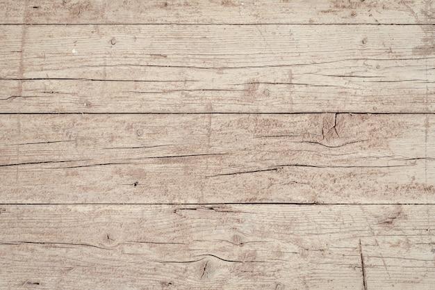 Fond de planche de bois vieilli. surface en bois extérieur grunge. modèle vide