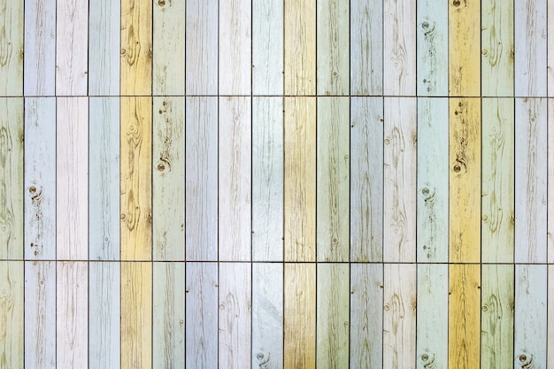Fond de plancher de carreaux de bois coloré