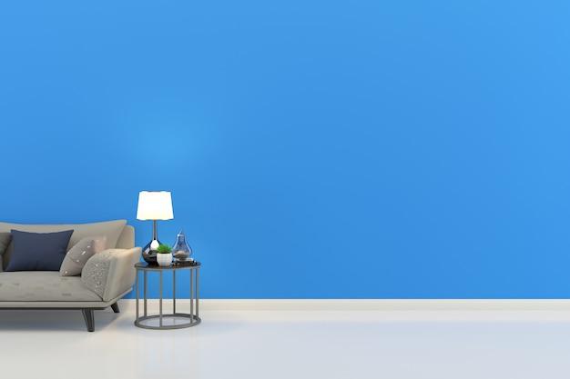 Fond de plancher intérieur maison salon avec fond
