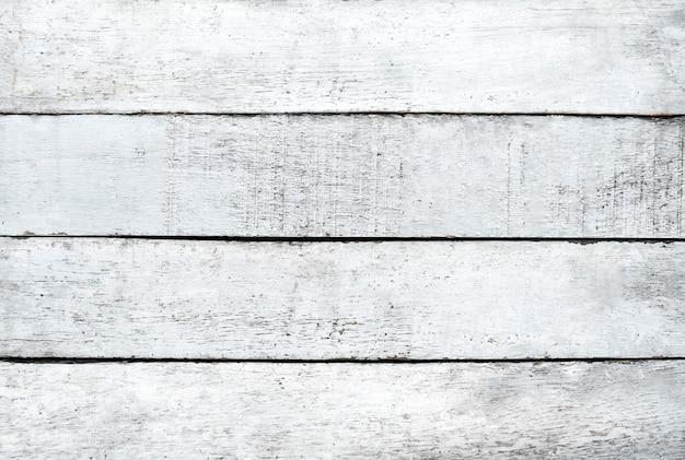 Fond de plancher de texture en bois blanc