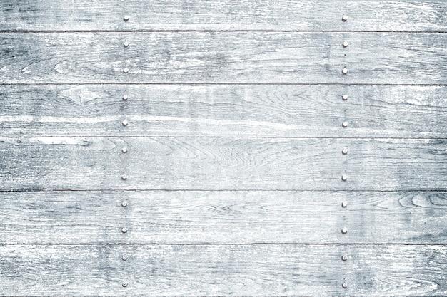 Fond de plancher texturé en bois bleu délavé
