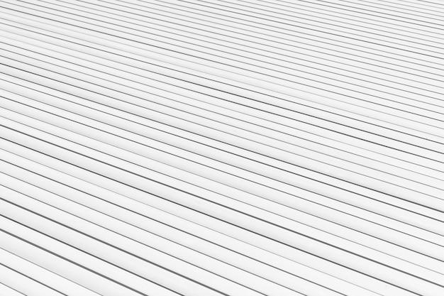 Fond de planches blanches à angle élevé