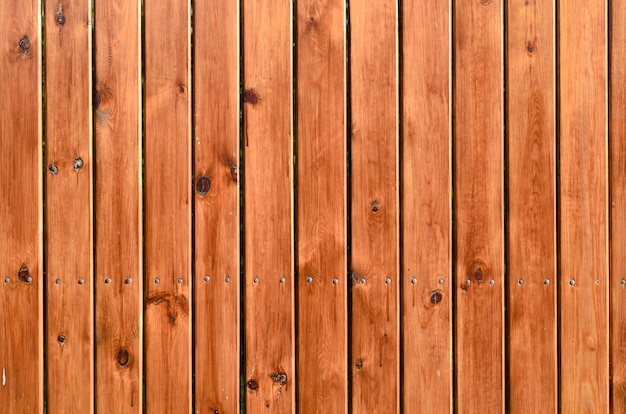 Fond de planches de bois de couleurs naturelles - orange et marron