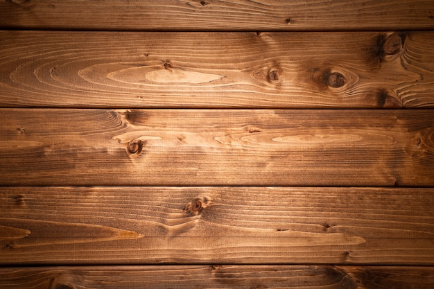 Fond De Planches De Bois Foncé Photo Premium