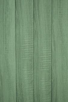 Fond de planches de bois vertes