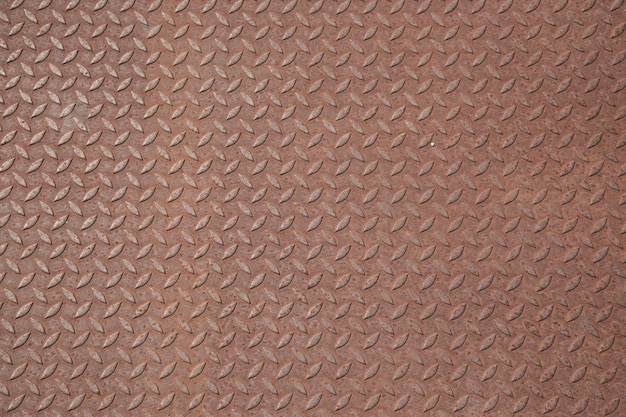 Fond de plaque en acier rouillé dimond