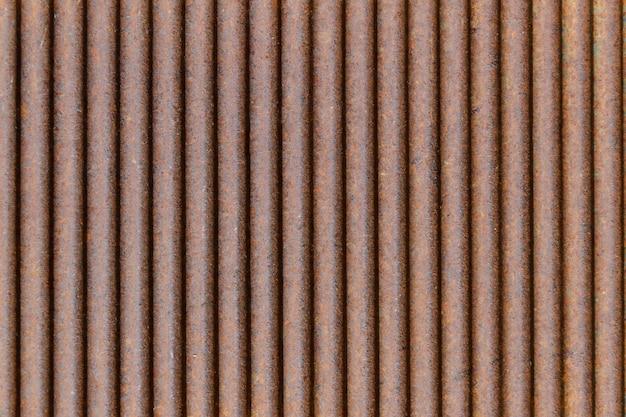 Fond de plaque de fer galvanisé rouillé